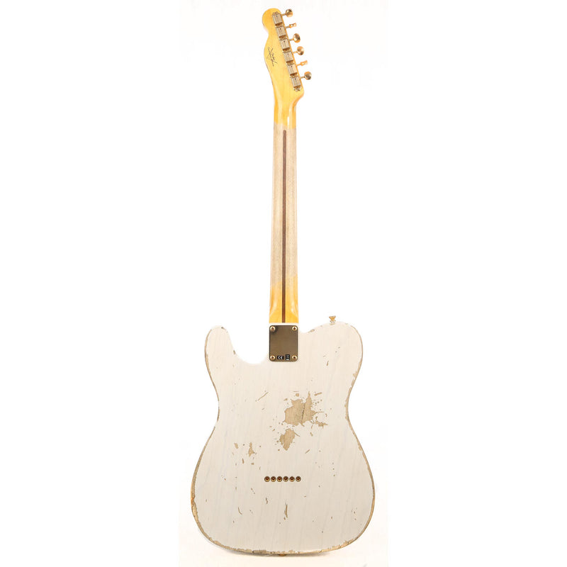 Fender Custom Shop 1956 Telecaster Heavy Relic White Blonde with Gold Hardware R99061