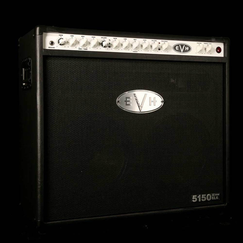 EVH 5150 III 6L6 50W 2x12 Combo Amplifier Black 2254010010