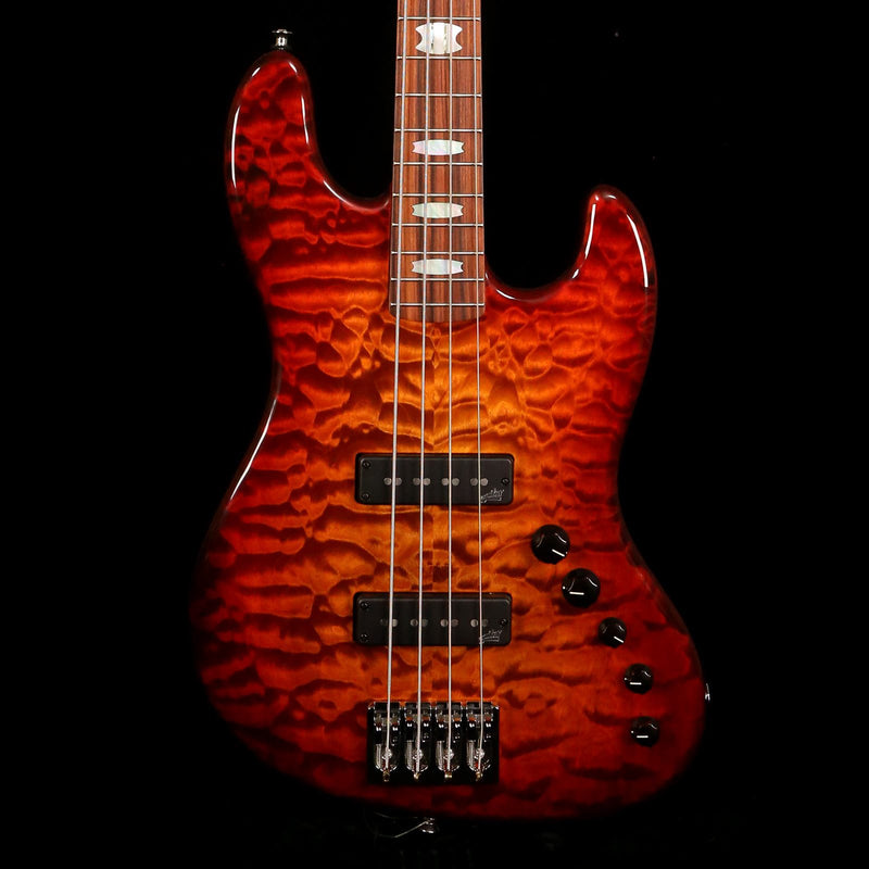 Spector Coda4 Dlx Quilted Maple Ultra Amber Gloss 147