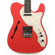 Fender Two-Tone Telecaster Thinline Fiesta Red Ebony Fretboard