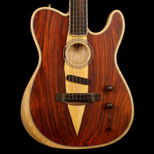 Fender Limited Exotic American Acoustasonic Telecaster Cocobolo