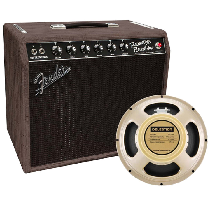 Fender '65 Princeton FSR Chilewich Charcoal 1x12 Combo Amplifier 2172000992