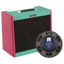 Fender Blues Jr IV LA Vice FSR Combo Amplifier Hot Pink and Foam Green