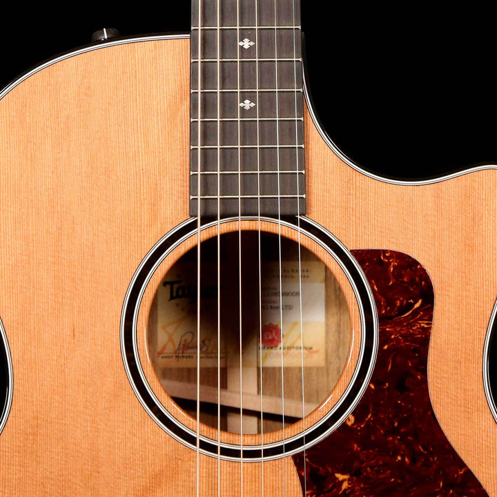 Taylor 414ce LTD Grand Auditorium Acoustic-Electric Western Red Cedar Natural 1108099006