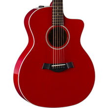 Taylor 214ce DLX Grand Auditorium Acoustic-Electric Red