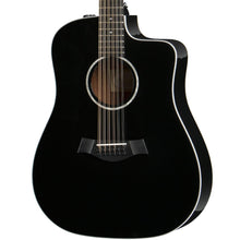 Taylor 250ce-BLK DLX Dreadnought 12-String Acoustic-Electric Black