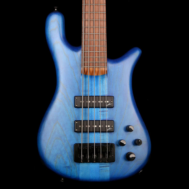 Spector Forte 5-String Bass Blue Stain Matte 114