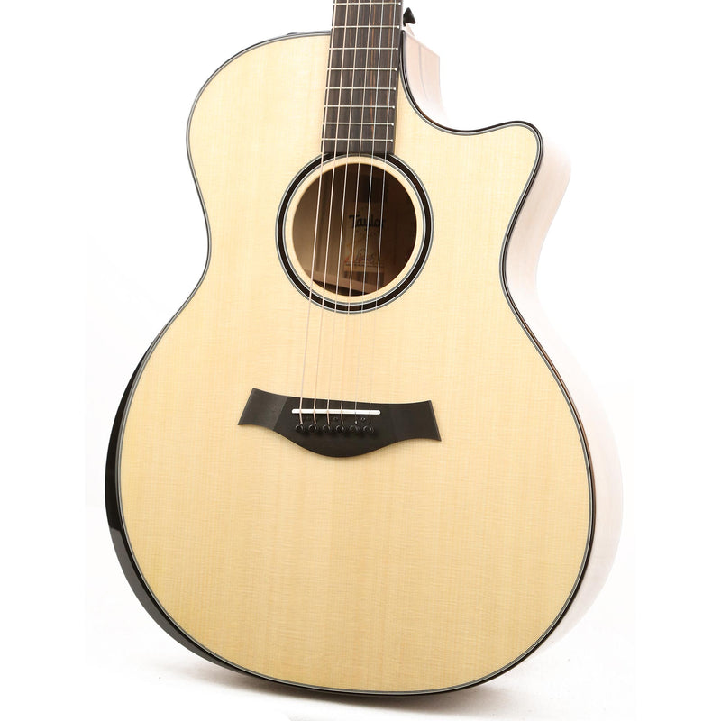 Taylor Custom Shop Grand Auditorium Blackheart Sassafras and Lutz Spruce Music Zoo 25th Anniversary Limited Edition 1108019026