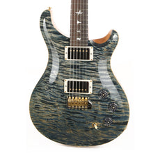 PRS DGT Wood Library 10-Top Quilt Maple with East Indian Rosewood Neck Brazilian Rosewood Fretboard Faded Whale Blue
