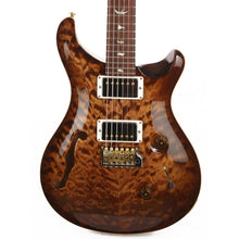 PRS Custom 24 Semi-Hollow Wood Library 10-Top Quilt Maple with Figured Mahogany Body Copperhead Burst