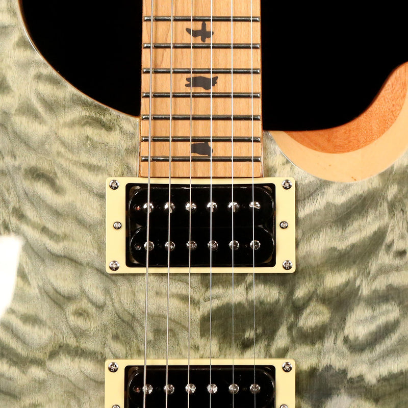 prs se custom 24 limited edition roasted maple neck trampas green the music zoo. Black Bedroom Furniture Sets. Home Design Ideas
