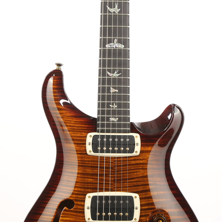 PRS 408 Artist Package Black Gold Burst 2013 203288