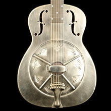 National NRP 14-Fret Resonator Brushed Steel