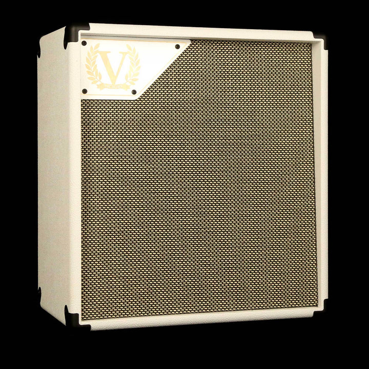 Victory V112-V 1x12 Guitar Cabinet White with Salt and Pepper Grill
