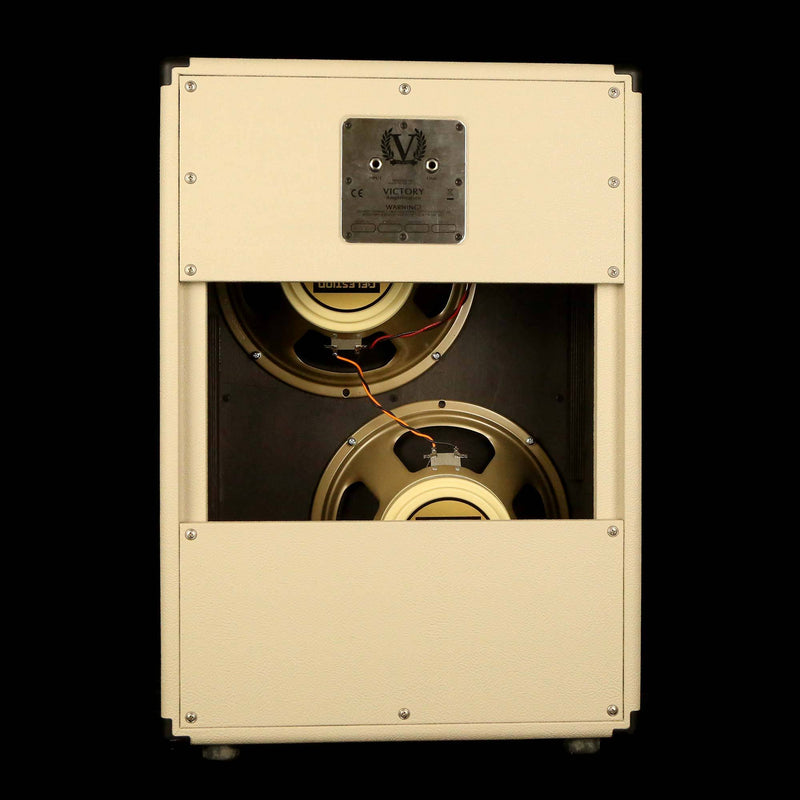 Victory V212-VC 2x12 Guitar Cabinet Cream