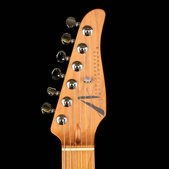 Tom Anderson Drop Top Classic Shorty Hollow Natural Black with Binding 2019 09-04-19J