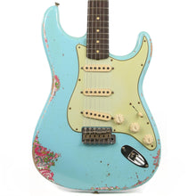 Fender Custom Shop '60s Stratocaster Heavy Relic Daphne Blue over Pink Paisley 2019