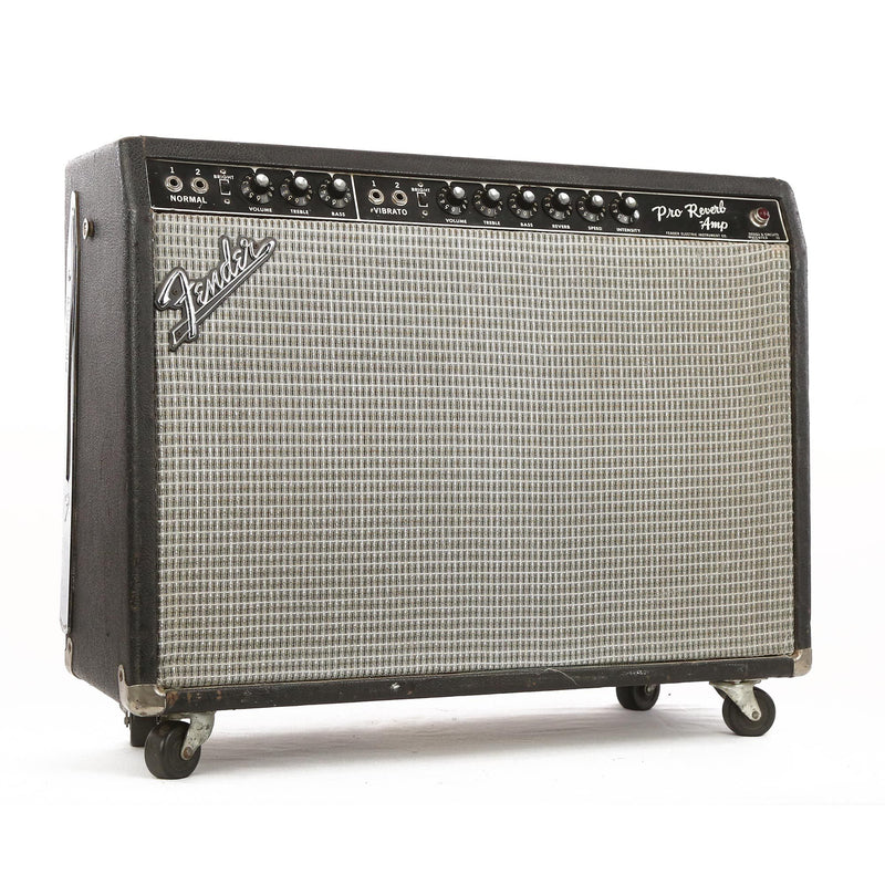 Fender Pro Reverb Combo Guitar Amplifier 1965 A00453