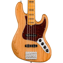 Fender American Ultra Jazz Bass V 5-String Aged Natural