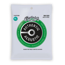 Martin MA130S Authentic Acoustic Marquis Silked Acoustic Guitar Strings Custom 11.5-47