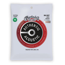 Martin MA180T Authentic Acoustic Lifespan 2.0 80/20 Bronze 12-String Acoustic Strings Extra Light 10-47