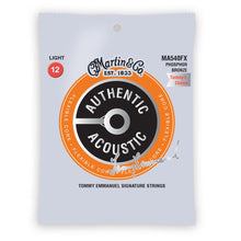 Martin MA540FX Authentic Acoustic Flexible Core Strings Phosphor Bronze Light 12-52