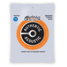 Martin MA550FX Authentic Acoustic Flexible Core Strings Phosphor Bronze Medium 13-56
