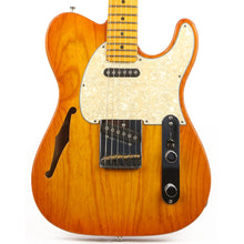 G&L ASAT Classic Semi-Hollow Honey Burst