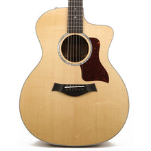 Taylor 214ce-FO DLX Figured Ovangkol Grand Auditorium Acoustic-Electric Natural