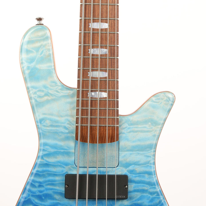 Spector NS5H2 5-String Bass Glacier Melt