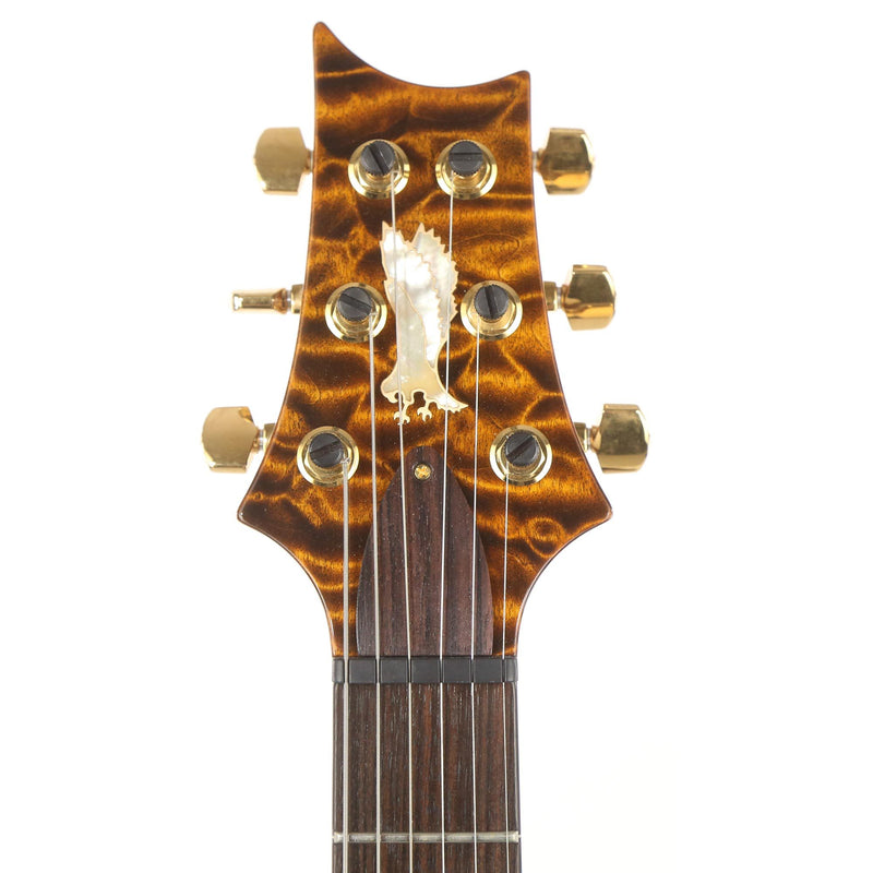 PRS Private Stock Custom 24 Quilt Maple Top Tiger Eye 2010 10-163012