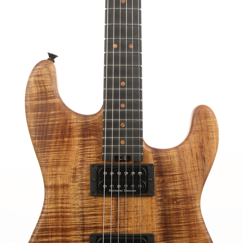 Charvel Custom Shop San Dimas Nitro-Finished Tasmanian Blackwood Music Zoo 25th Anniversary Edition 4OF5