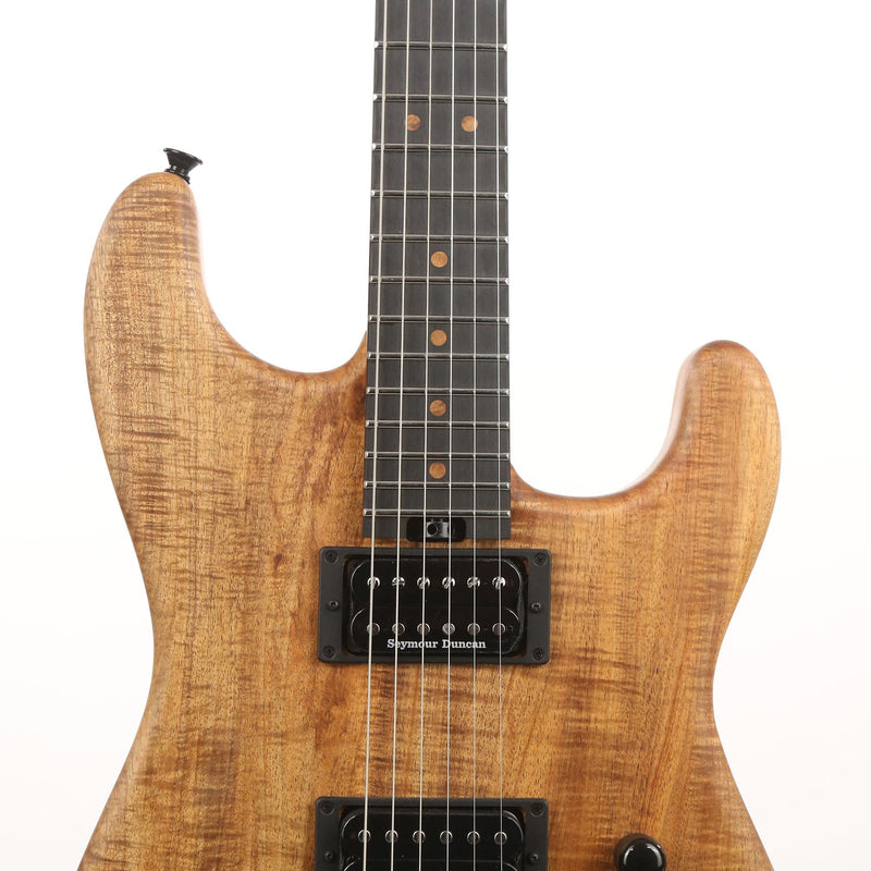 Charvel Custom Shop San Dimas Nitro-Finished Tasmanian Blackwood Music Zoo 25th Anniversary Edition 5OF5