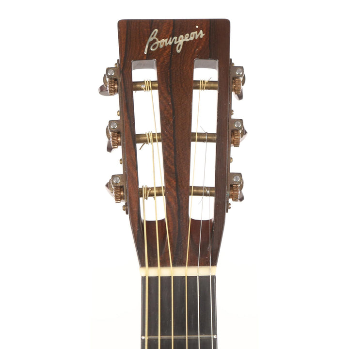Bourgeois 12 Fret OMS Acoustic Peruvian Rosewood and Italian Spruce Natural 1057