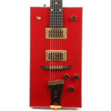 "Gretsch G6138 Bo Diddley ""G"" Cutout Tailpiece Firebird Red"