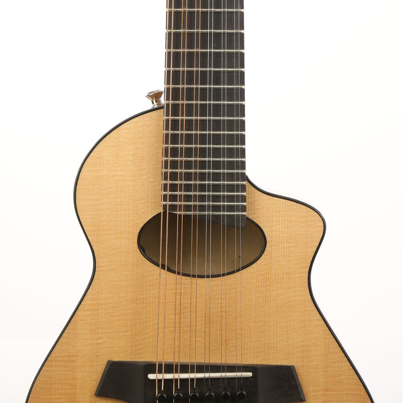 veillette aero merlin 12 string guitar the music zoo. Black Bedroom Furniture Sets. Home Design Ideas