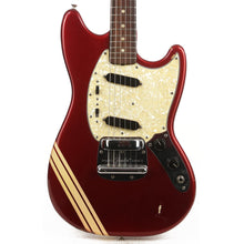 Fender Mustang Candy Apple Red with Competition Stripe 1971