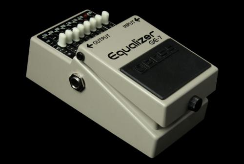 Boss GE-7 Graphic Equalizer Pedal GE-7