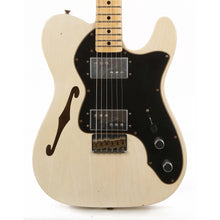 Fender Custom Shop 1972 Telecaster Thinline Limited Edition White Blonde Journeyman Relic