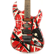 EVH Striped Series Frankie Red/White/Black Relic