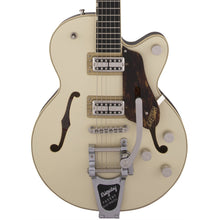Gretsch G6659T Players Edition Broadkaster Jr. Center Block Single-Cut with String-Thru Bigsby Ebony Fingerboard Two-Tone Lotus Ivory/Walnut Stain