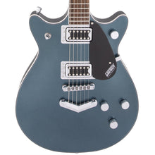 Gretsch G5222 Electromatic Double Jet BT with V-Stoptail Laurel Fingerboard Jade Grey Metallic