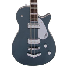Gretsch G5260 Electromatic Jet Baritone with V-Stoptail Laurel Fingerboard Jade Grey Metallic