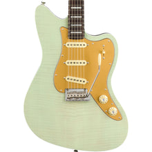 Fender Parallel Universe Strat Jazz Deluxe Transparent Faded Seafoam Green