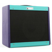 Fender Blues Jr IV Totally 80s FSR Combo Amplifier Seafoam and Purple