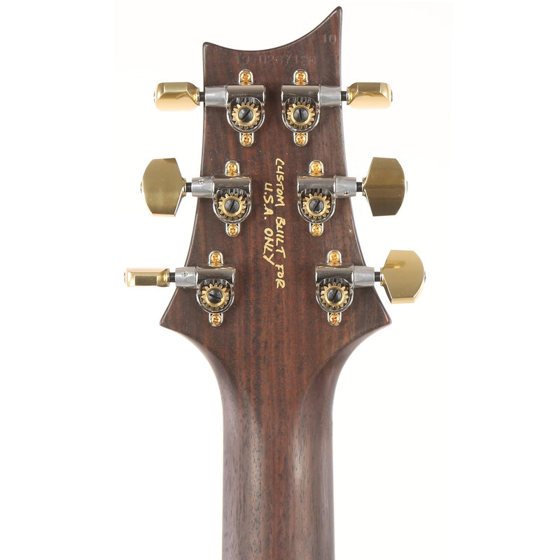 PRS McCarty 594 Wood Library 10-Top Quilt Maple and Brazilian Rosewood Fretboard Black Gold Burst 0287120