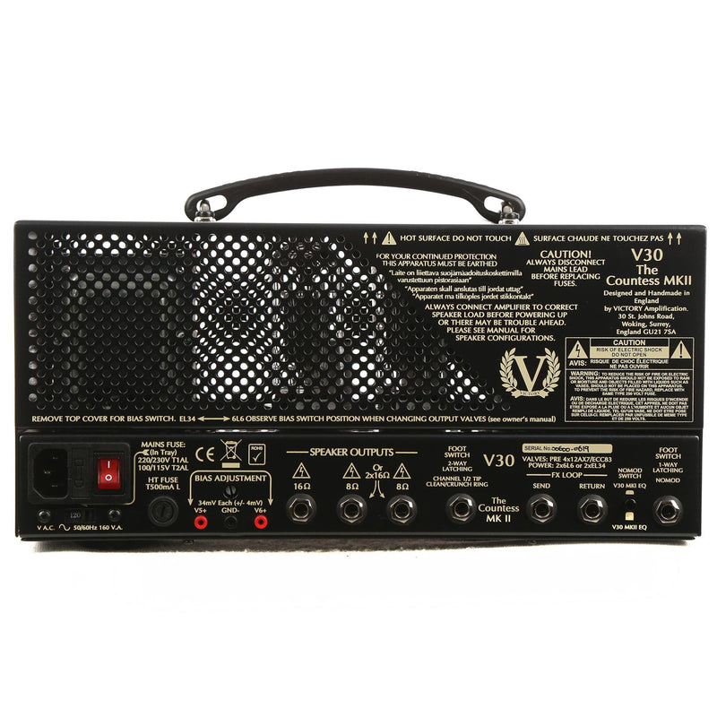Victory Amplification V30 The Countess MKII Amplifier 00600-0619