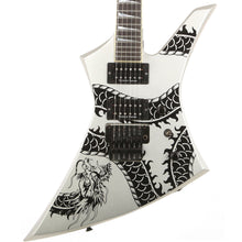 Jackson USA KE2 Kelly Dragon Graphic Silver 2003