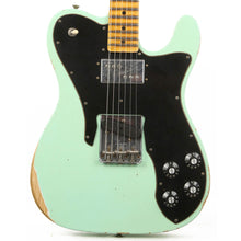 Fender Custom Shop 1972 Telecaster Custom Thinline Reissue NAMM 2020 Display Relic Faded Aged Surf Green