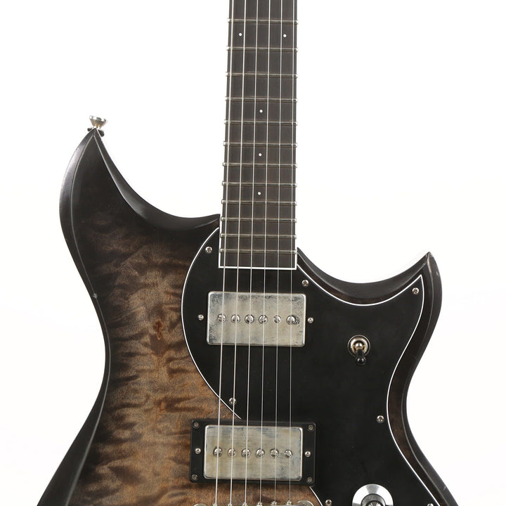 Dunable Cyclops Relic Lacquer Finish Quilt Top  2020 NAMM Display 19263